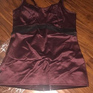 New Ruby Ribbon Lace full support Wine 36